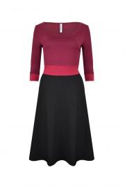 Kleid bordeaux VT