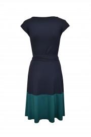 Jerseykleid blau/türkis HT