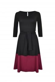 Jerseykleid schwarz VT