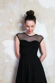 Tüll Kleid schwarz