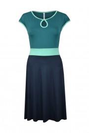 Sommerkleid petrol blau