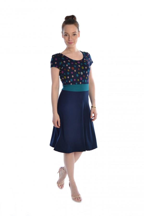 Sommerkleid dunkelblau